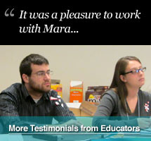 Testimonials from Educators, Teachers, Professors